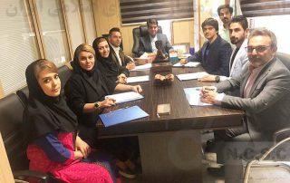 جلسه کمیته مدرسین انجمن ملي ماساژ در تاریخ سی و یک ام اردیبهشت ماه 98