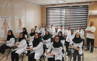 کلاس آموزشی ماساژ